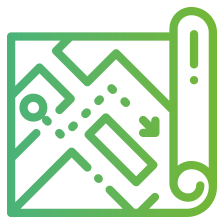 GreenGIS kanskaart